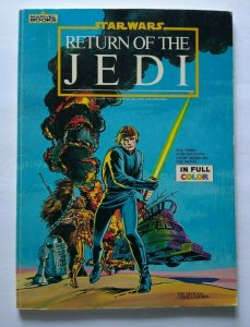 Star Wars Return Of The Jedi Marvel Comic Book Full Color Lucasfilm Space Age