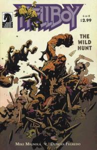 Hellboy: The Wild Hunt #4 FN; Dark Horse   save on shipping - details inside