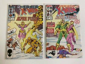X-Men Alpha Flight 1st Series Set # 1-2 8.0 VF (1985)