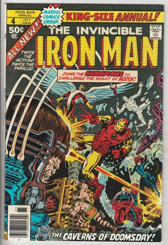 Iron Man Annual #4 (Jan-77) NM Super-High-Grade Iron Man