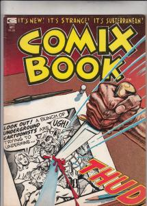 Comix Book #1 (Jan-74) VF/NM High-Grade Mr. Natural, Snappy Sammy Smoot, Bare...