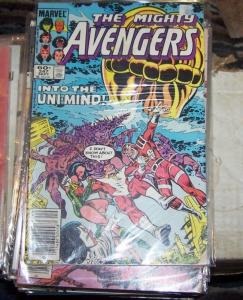 Avengers # 247 (Sep 1984, Marvel) unimind eternals cersi star fox she hulk wasp