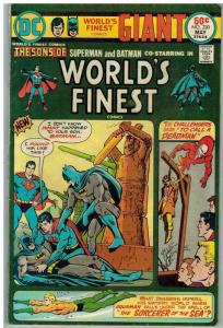 WORLDS FINEST 230 (GIANT) VG+ (NOT 100 PAGES) COMICS BOOK