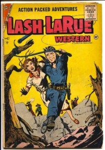 Lash LaRue #62 1956-Charlton-Wild Bill Hickok-VG