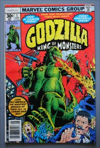 Godzilla 1 Marvel (1977)   VF/Better     See Actual Photo
