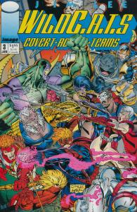 WildC.A.T.s #3 VF/NM; Image | save on shipping - details inside