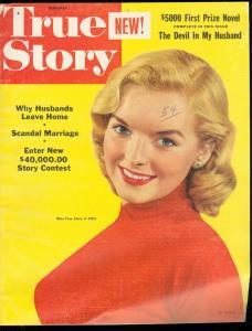TRUE STORY NOV '53-SCANDAL MARRIAGE-DEVIL HUSBAND-COMIC FN/VF