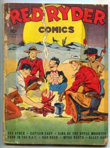 Red Ryder #6 1942- 1st DELL ISSUE- rare western FAIR