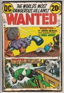 Wanted #5 (Jan-73) FN/VF Mid-High-Grade Doll Man, Green Lantern