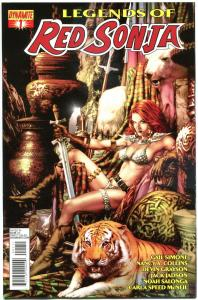 LEGENDS of RED SONJA #1, NM-, She-Devil, Sword, Anacleto, 2013, more RS in store