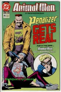 ANIMAL MAN #45, NM+, Penalizer, Tom Veitch, more Vertigo and DC in store