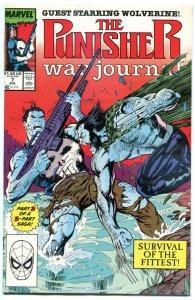 PUNISHER WAR JOURNAL #7, vs Wolverine, NM,  X-Men, Jim Lee, more Marvel in store