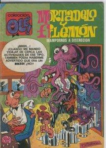 Ole numero 099: Mortadelo y Filemon : Mamporros a discrecion (falta la primer...