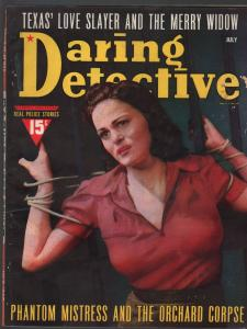 Daring Detective 7/1940- pulp thrills-bondage-Phantom Mistress-VG