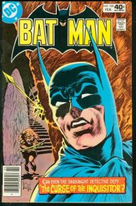 BATMAN #320-1980-DC VF