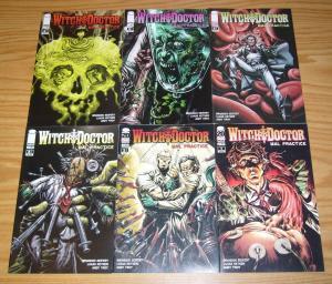 Witch Doctor: Mal Practice #1-6 VF/NM complete series - brandon seifert horror