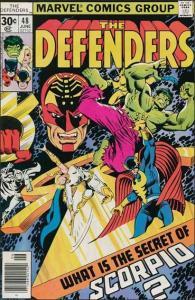 Marvel THE DEFENDERS (1972 Series) #48 FN