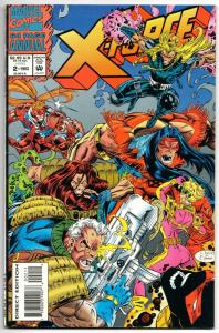X-Force Annual #2 (Marvel, 1993) FN/VF