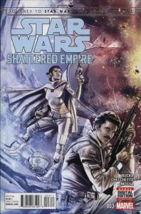 Journey to Star Wars: The Force Awakens—Shattered Empire #3 VF; Marvel | save on