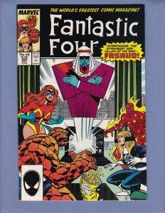 Fantastic Four #308 FN Marvel 1987