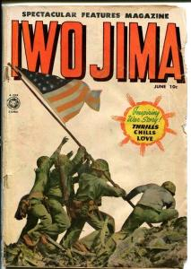 SPECTACULAR FEATURES MAGAZINE #12-IWO JIMA-1950-WAR G