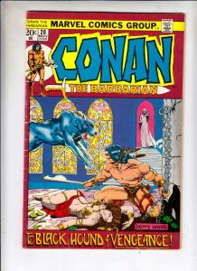 Conan the Barbarian #20 (Nov-72) FN/VF Mid-High-Grade Conan the Barbarian