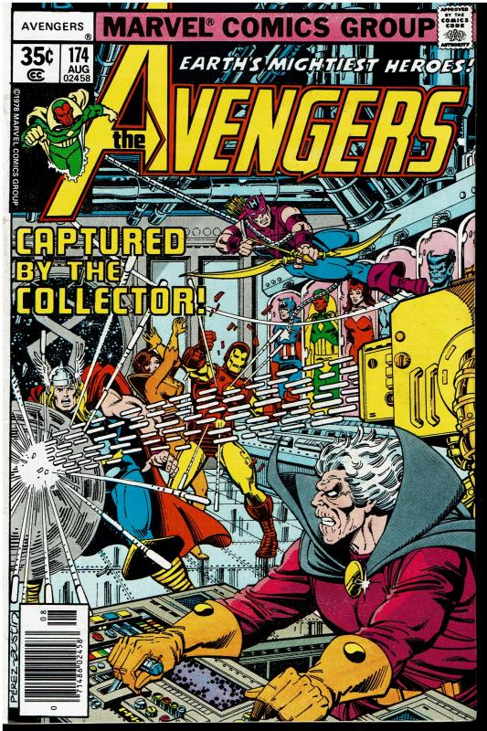 Avengers #174, 7.5 or Better - Thanos Cameo