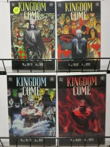KINGDOM COME (1996) 1(1ST PRINT),2-4 ALEX ROSS COMPLETE