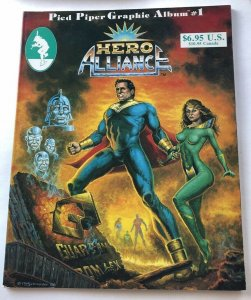 PIED PIPER GRAPHIC ALBUM #1 ~HERO ALLIANCE~  End of the Golden Age 1986
