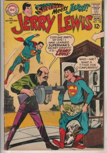 Jerry Lewis, the Adventures of #105 (Apr-68) VF High-Grade Jerry Lewis