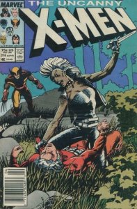 Uncanny X-Men, The #216 (Newsstand) FN; Marvel | save on shipping - details insi