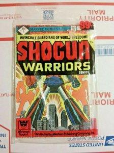 Shogun Warriors #1-3 Unopened Whitman Pack Marvel