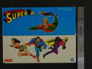SUPER A COLLECTORS BOX-RARE-1977-12-VG-WONDER WOMAN-SUPERMAN VG-