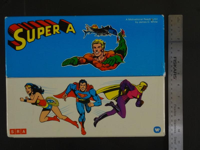 SUPER A COLLECTORS BOX-RARE-1977-12-VG-WONDER WOMAN-SUPERMAN VG-