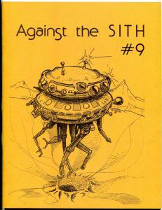 Against the Sith #9 1980-  Star Wars Fanzine Fan Fiction VF