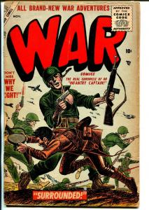 War #38 1955-Atlas-Joe Kubert-Capt Kirk of the Infantry-G