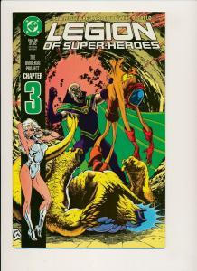 DC Comics Legion of Super-Heroes #34 (Universo Pro chapter 3) 1987 ~ NM (PF520)