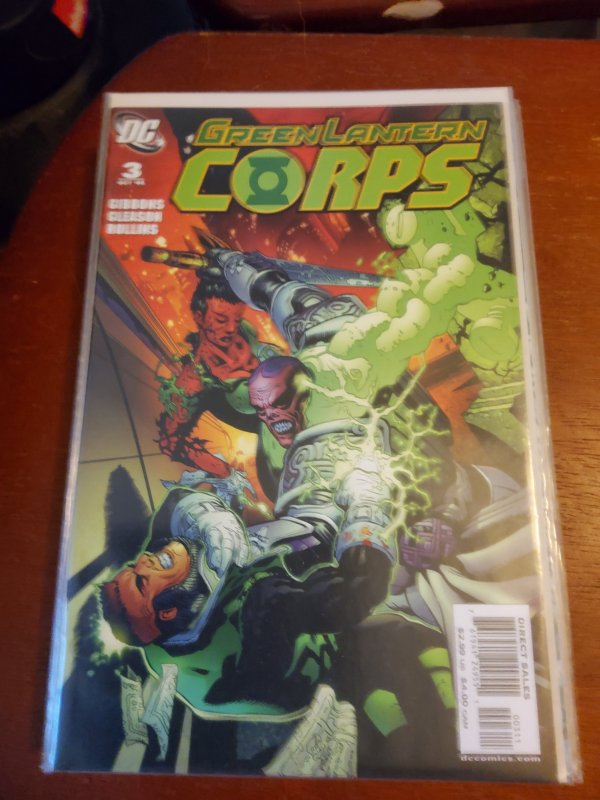 Green Lantern Corps #3 (2006)