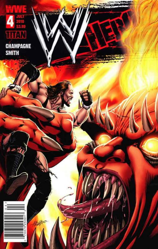 WWE Heroes #4A VF/NM; Titan | save on shipping - details inside