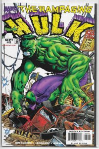 Rampaging Hulk   vol. 1   # 2 B VF