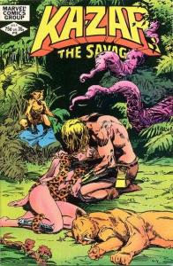 Ka-Zar the Savage #16, VF+ (Stock photo)