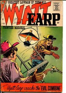 Wyatt Earp #16 1961-Charlton-Doc Holliday-Masked Raider-G/VG