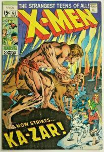 UNCANNY X-MEN#62 GD/VG 1969 NEAL ADAMS ART MARVEL SILVER AGE COMICS