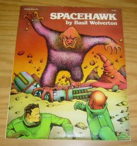 Spacehawk by Basil Wolverton TPB VF- archival press published in 1978 sc book