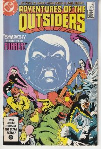 Adventures of The Outsiders # 35  Baron Bedlam, Masters of Disaster !