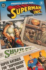 Superman Inc. #1, NM (Stock photo)