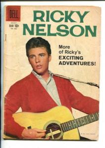 RICKY NELSON  #998-1959-PHOTO COVER -DELL-vg