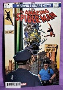 Howard Chaykin SPIDER-MAN MARVELS SNAPSHOTS #1 Variant Cover (Marvel, 2020)!