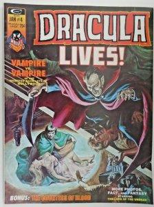 mm Dracula Lives! (1973, Marvel) #4vf/nm Mike Ploog