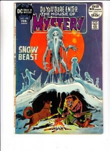 House of Mystery #199 (Feb-72) FN+ Mid-High-Grade Cain